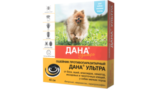 Dana Ultra insecticide collar for dogs of small breeds