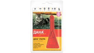 Dana Ultra drops for cats and kittens larger than 4 kg