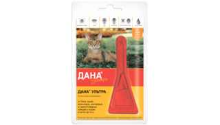 Dana Ultra drops for cats and kittens up to 4 kg