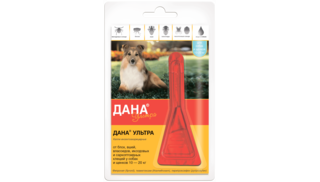 Dana Ultra drops for dogs and puppies 10-20 kg