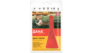 Dana Ultra drops for dogs and puppies 5-10 kg