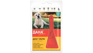 Dana Ultra drops for dogs and puppies larger than 20 kg